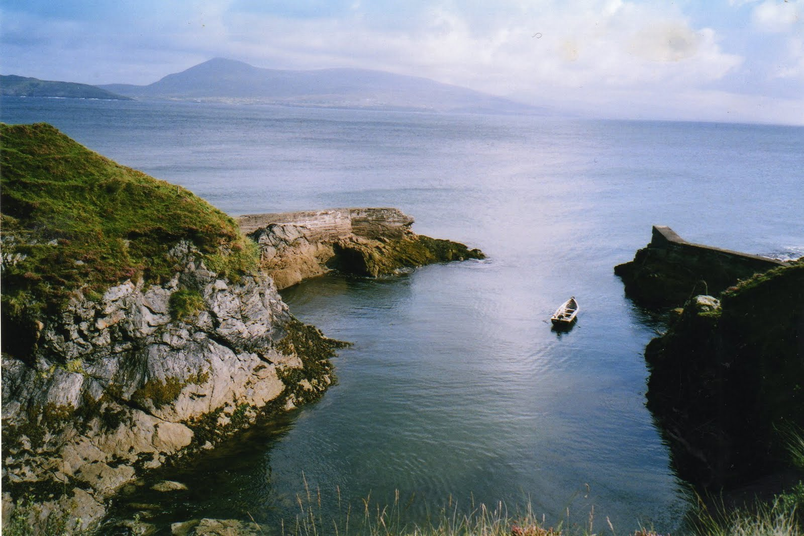 The Cove, Clare Island, Co Mayo