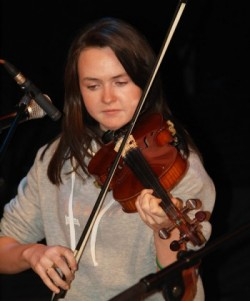 Rebecca - fiddle player