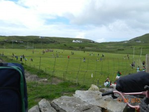 Clare Island GAA Pitch