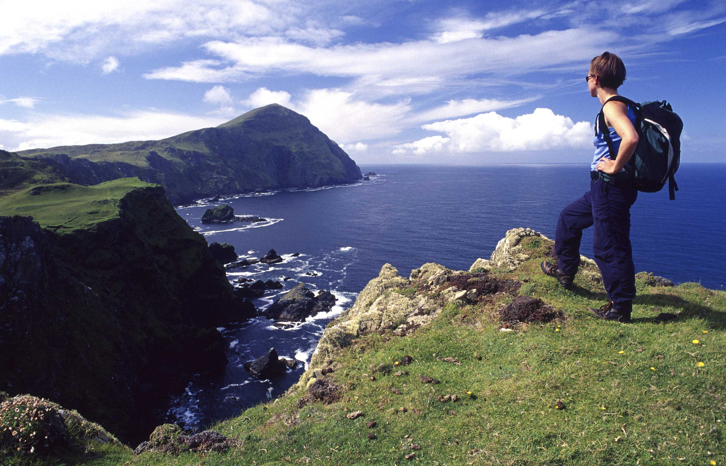 Explore The Beauty Of Caribbean: Walks & Trails Clare Island