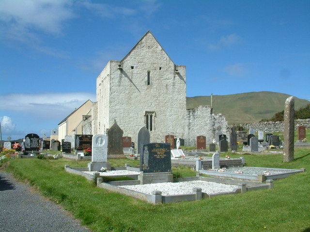 The Clare Island Abbey Mayo Ireland