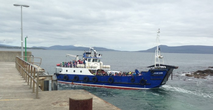Clare Island Weddings - Ferry