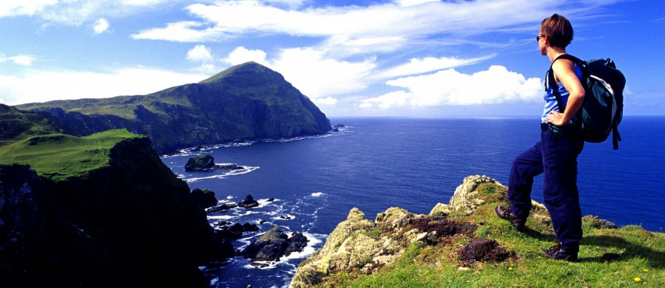 Go Explore Hostel, Clare Island Hiking
