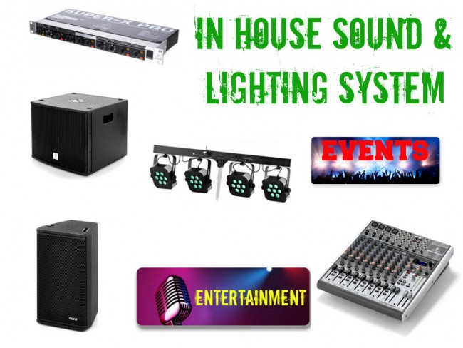 In house sound system
