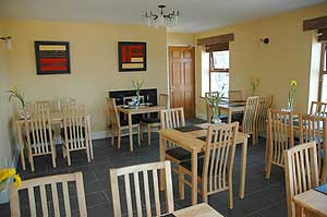 O'Gradys Guest Accommodation Dining Clare Island